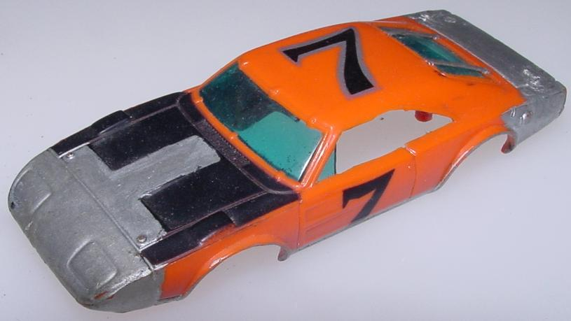 HO Slot Car Runner Body Hood