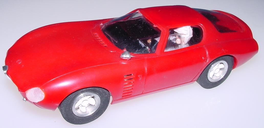 Atlas 1:24 Scale Red Body Shell Alfa-romeo Conguro Slot Car Racing Body 1663-498