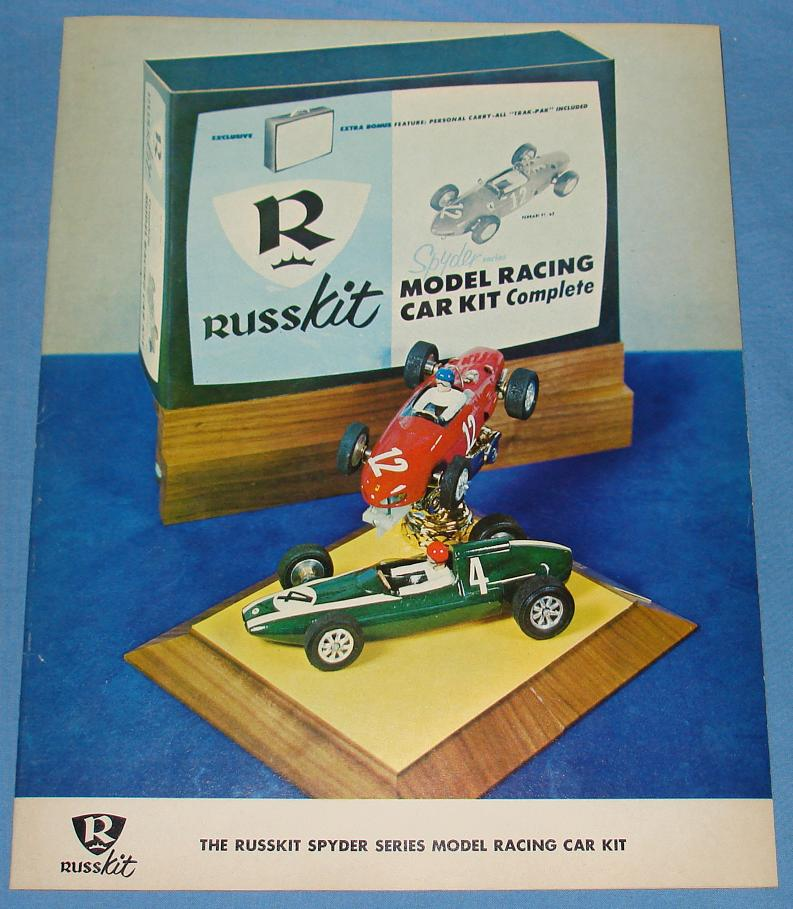 RUSSKIT SLOT CARS 16 PAGE 1965 CATALOG
