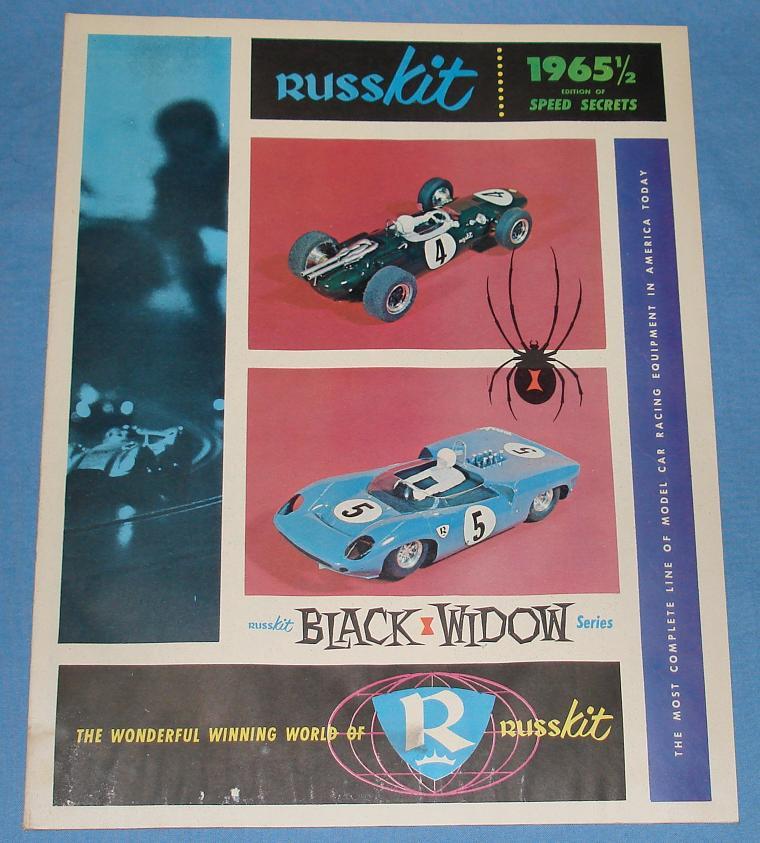1965 ½ RUSSKIT SLOT CAR RACING 32 PAGE CATALOG PARTS CARS KITS STORE DISPLAYS