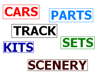 Turn Your Slot Cars Parts Track Sets Kits Scenery